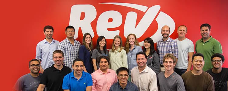 Rev.com Management Team Photograph
