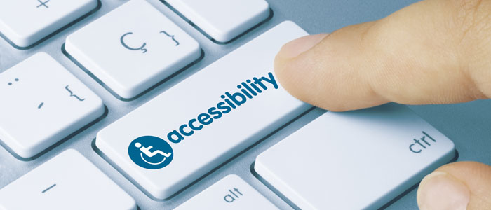 Keyboard with an Accessibility Key