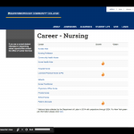 Nursing Careers Page on the Queensborough Community College Website