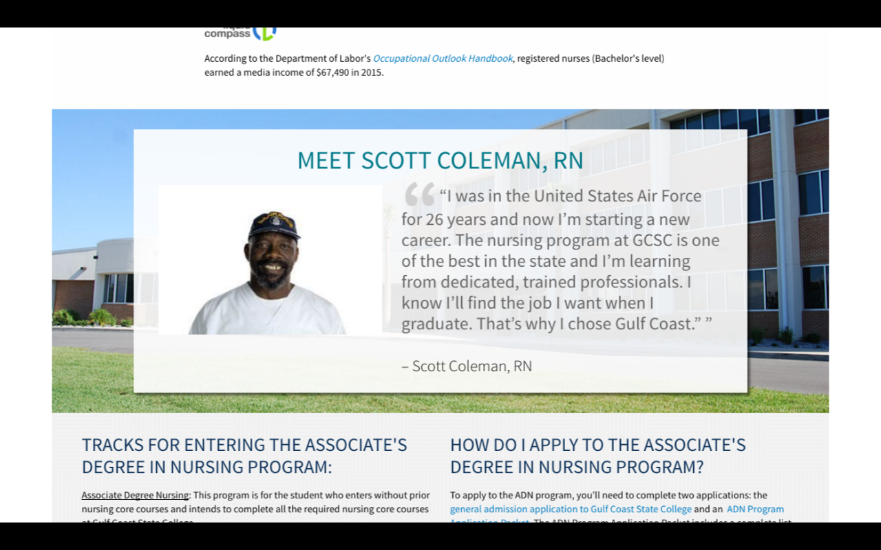 must have content for your academic program pages college inbound student testimonials